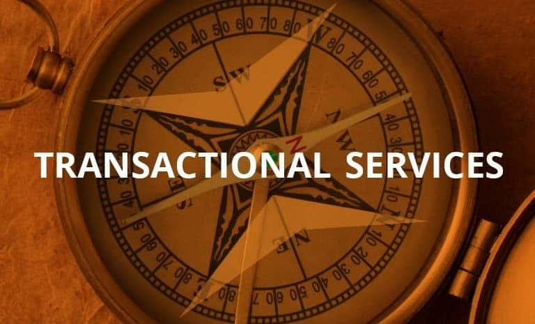 Transactional Services